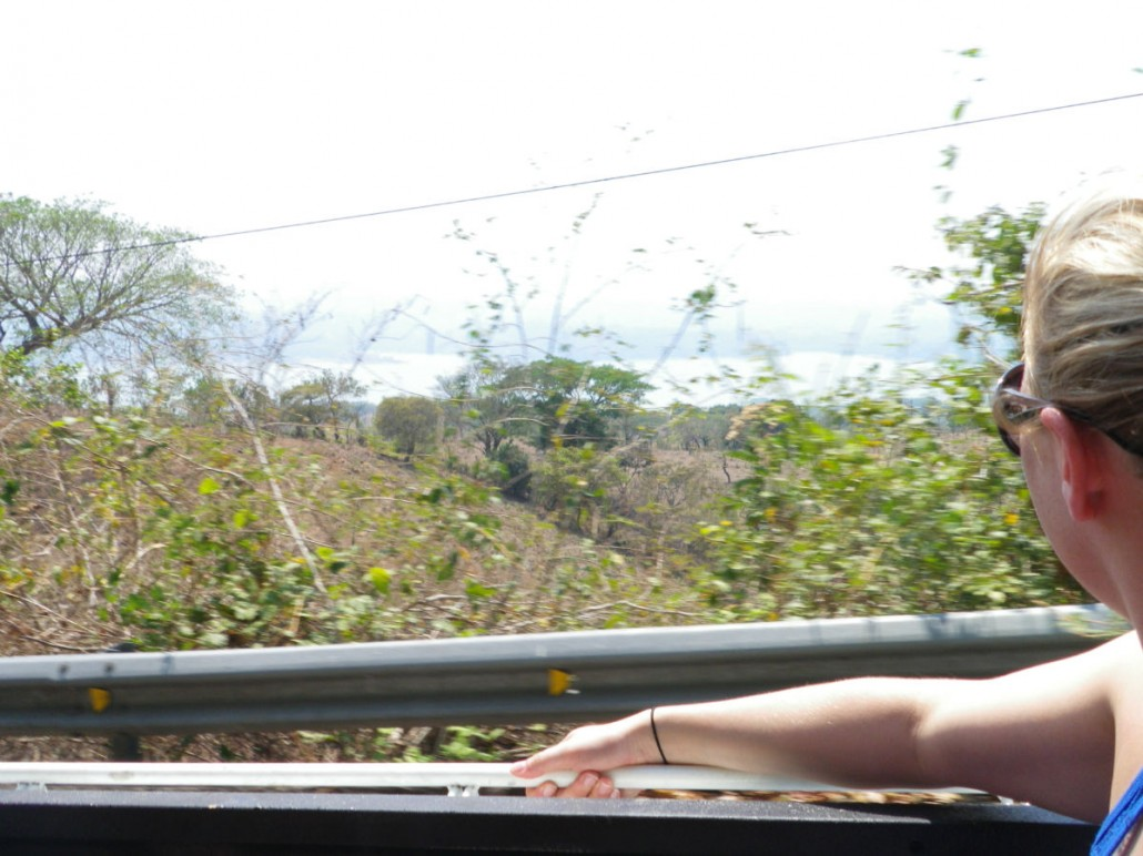 En route vers le Honduras